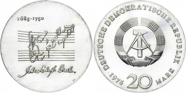DDR 20 Mark 1975 A Bach