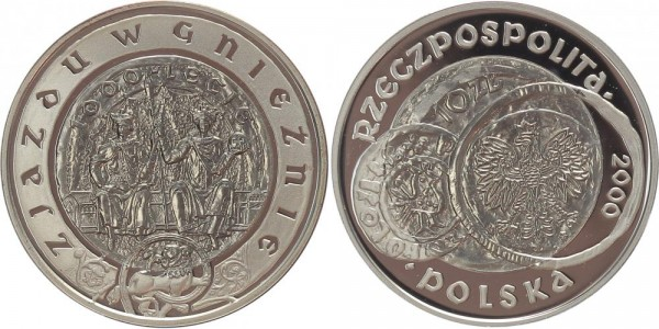 Polen 10 Zloty 2000 - Gnesen / Gniezno