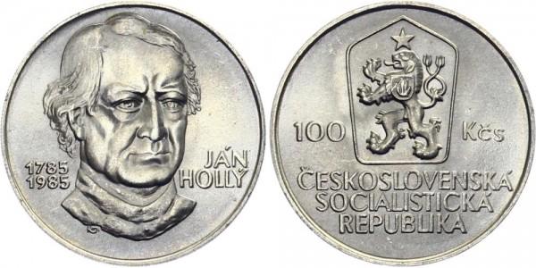 CSSR 100 Kč 1985 - Jan Holly