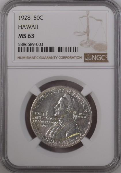 USA Half Dollar (50 Cents) 1928 - Hawaii