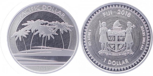 Fiji 1 Dollar 2018 - Pacific Dollar