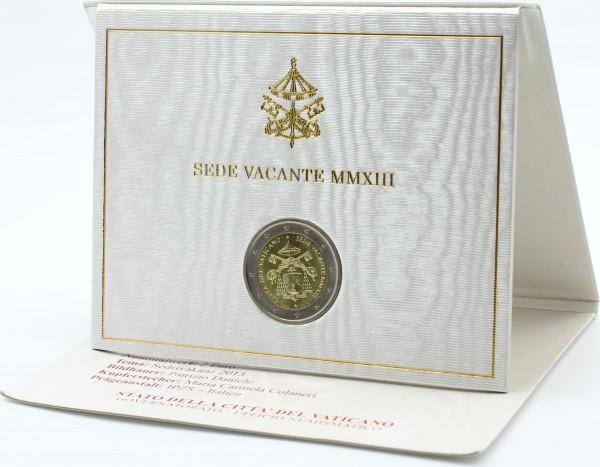 Vatikan 2 Euro 2013 - Sede Vacante