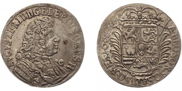 Lübeck 2/3 Taler 1688 - August Friedrich