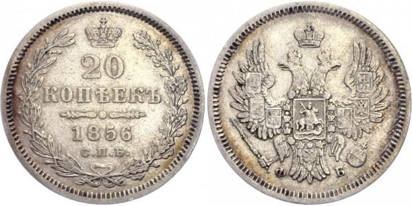 Russland 20 Kopeken 1856 - Alexander II (1854-1881)