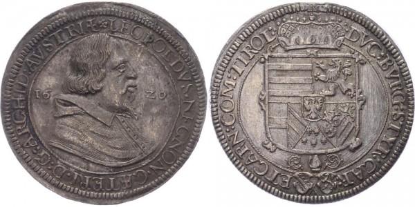 Römisch-Deutsches Reich Taler 1620 Hall Erzherzog Leopold V. 1619 - 1632
