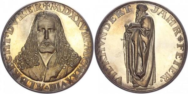 Weimarer Republik Medaille 1923 - Albrecht Dürer