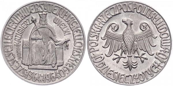 Polen 10 Złotych 1964 - Kursmünze