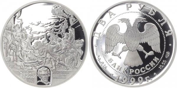 Russland 2 Rubel 1999 - K.P. Bryulov