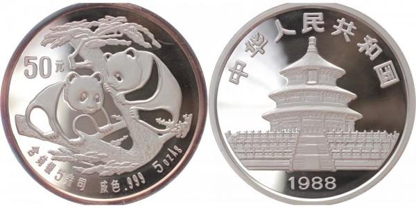 China 50 Yuan 1988 - Panda 5 Oz.