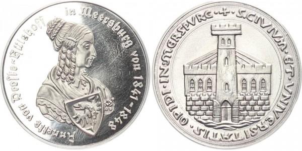 Deutschland Medaille o.J. - Annette von Droste-Hülshoff