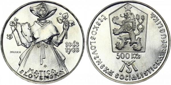 CSSR 500 Kč 1988 - Matica Slovenska