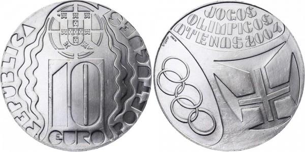 Portugal 10 Euro 2004 - Olympische Spiele