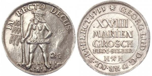 Braunschweig 24 Mariengroschen 1711 - Georg I.