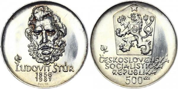 CSSR 500 Kč 1981 - Ludovit Stur