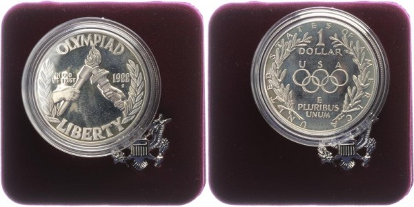 USA 1 Dollar 1988 - Olympia