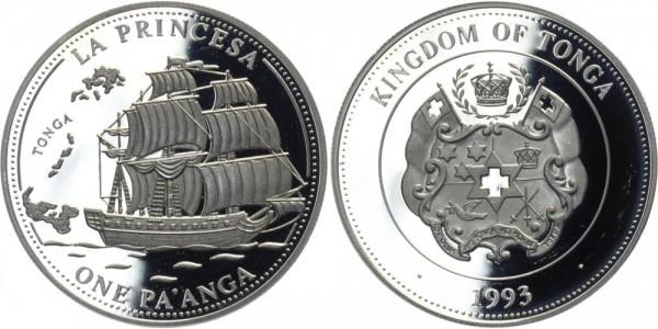 """TONGA 1 Pa' Anga 1993 - Segelschiff """"La Princesa"""""""
