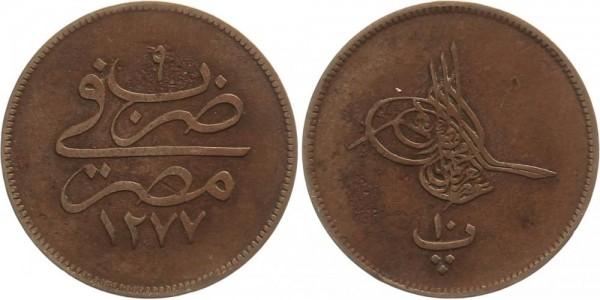 Türkei 10 Para 1865/1277 - Kursmünze
