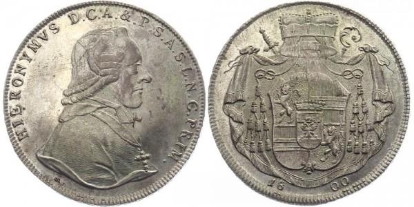 Salzburg 1 Taler 1800 - Hieronymus Graf von Colloredo-Wallsee