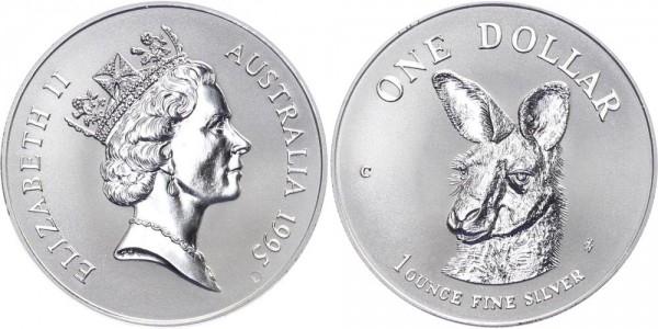 Australien 1 Dollar 1995 - Känguru