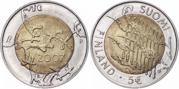 Finnland 5 Euro 2007 - 90 Jahre Unabhängigkeit