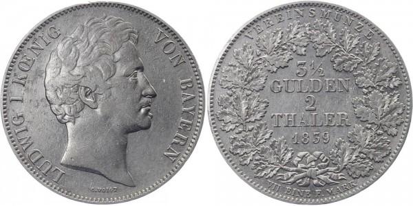 Bayern Doppeltaler 1839 - Ludwig I.