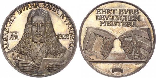 Weimarer Republik Medaille 1928 - Albrecht Dürer