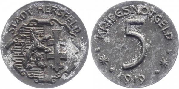 Hersfeld 5 Pfennig 1919 - Notgeld