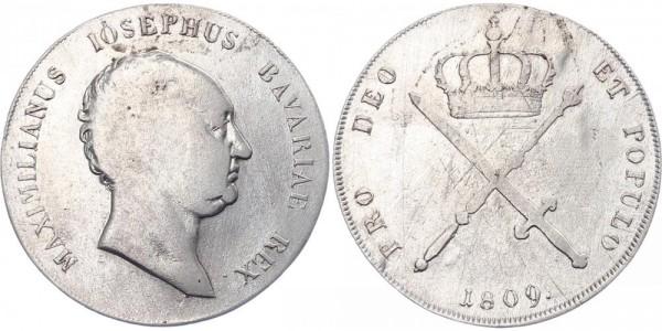 Bayern Kronentaler 1809 - Maximilian Joseph