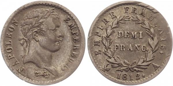 Frankreich 1/2 Franc 1812 - Napoleon