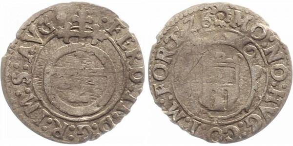 Montfort 1/2 Batzen 1624 - Hugo IV.