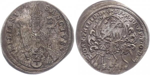 Würzburg 4 Kreuzer/Batzen 1704 - Johann Philipp