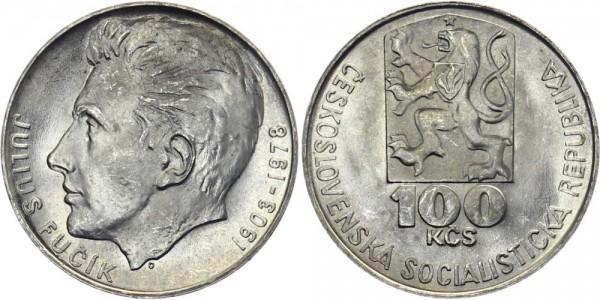 CSSR 100 Kč 1978 - Julius Fucik