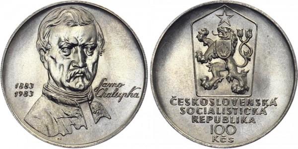 CSSR 100 Kč 1983 - Samo Chalupka
