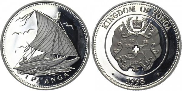 TONGA 1 Pa' Anga 1998 - Schiffsmotiv