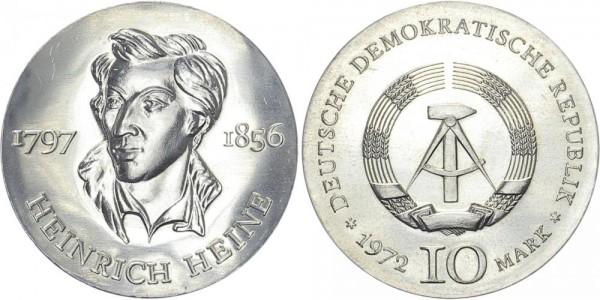 DDR 10 Mark 1972 A Heine