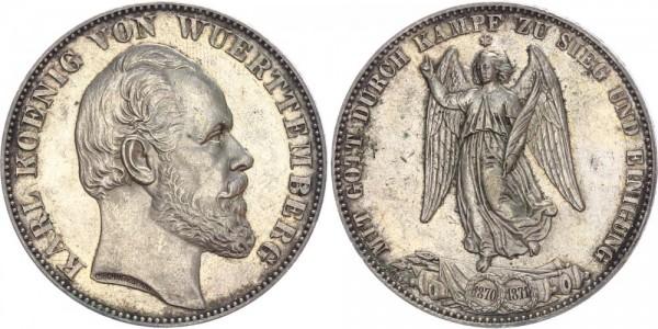 Württemberg Taler 1871 - Siegestaler