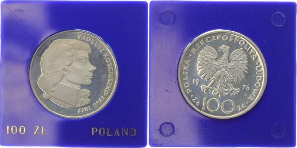 Polen 100 Zlotych 1976 - Tadeusz Kosciuszko