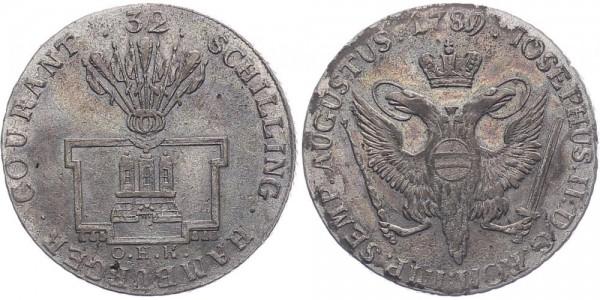 Hamburg 32 Schilling 1789 - Joseph II.