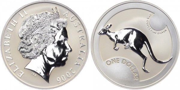 Australien 1 Dollar 2006 - Kangaroo