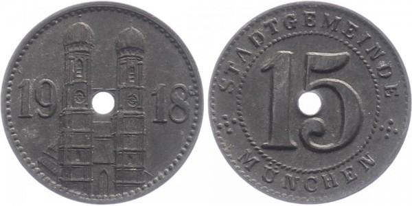 München 15 Pfennig 1918 - Notgeld
