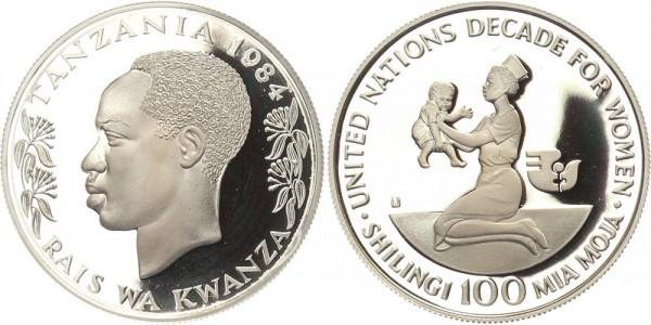 Tansania 100 Shilingi 1984 - Jahrzehnt der Frau