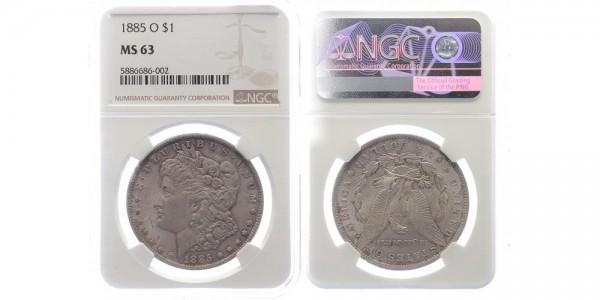 USA 1 Dollar 1885 O Morgan