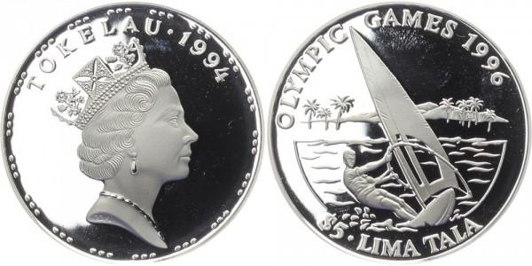 Tokelau 5 Lima Tala 1994 - Windsurfer