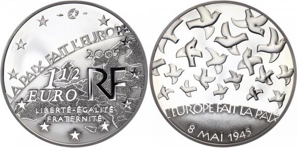 Frankreich 1 1/2 Euro 2005 - Europa