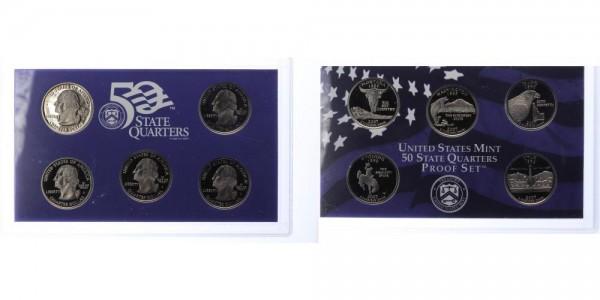 USA 25c, Quarter Dollar 2007 - Proof Set