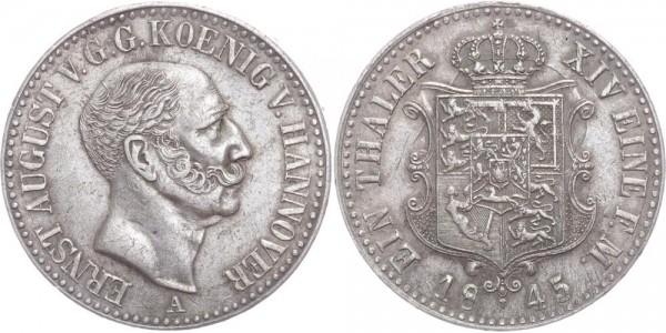 Hannover Taler 1845 - Ernst August