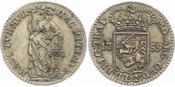 Niederlande 1/4 Gulden 1759
