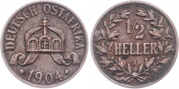 Deutsch-Ostafrika ½ Heller 1904 Berlin