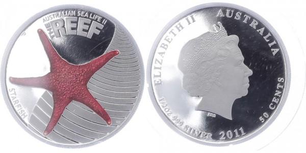 Australien 50 Cents 2011 - Seastar