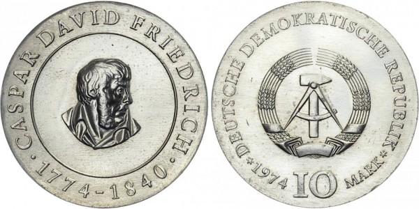 DDR 10 Mark 1974 A Friedrich